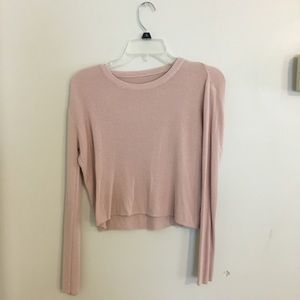 Brandy Melville Blush Pink Sweater